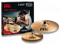 "MEINL MCS1418  комплект тарелок HH-14"", Crash-Ride -18"" Medium, сплав бронзы B8"