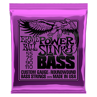 Ernie Ball 2831 струны для бас-гитары Nickel Wound Bass Power Slinky (55-75-90-110)