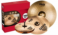 SABIAN B8 PRO PERFORMANCE SET комплект тарелок (14'' Hats, 16'' Crash, 20'' Ride), без чехла/кейса