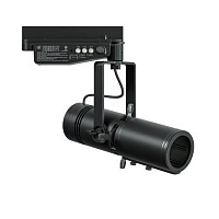ETC Irideon FPZ 25-50 Zoom, Portable, Gallery, 3000K w. EU connector, black Компактный LED прожектор