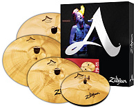 "ZILDJIAN A20579-11 A' CUSTOM 5 PACK MATCHED SET набор тарелок (14"" HiHat, 16"" Crash, 20"" Medium Ride, 18"" Crash)"