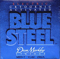 DeanMarkley 2562A Blue Steel  струны для 7-струнной электрогитары, 11-60